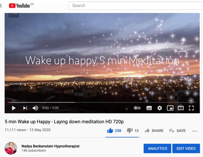11K Views of my meditation – Nadya Brand