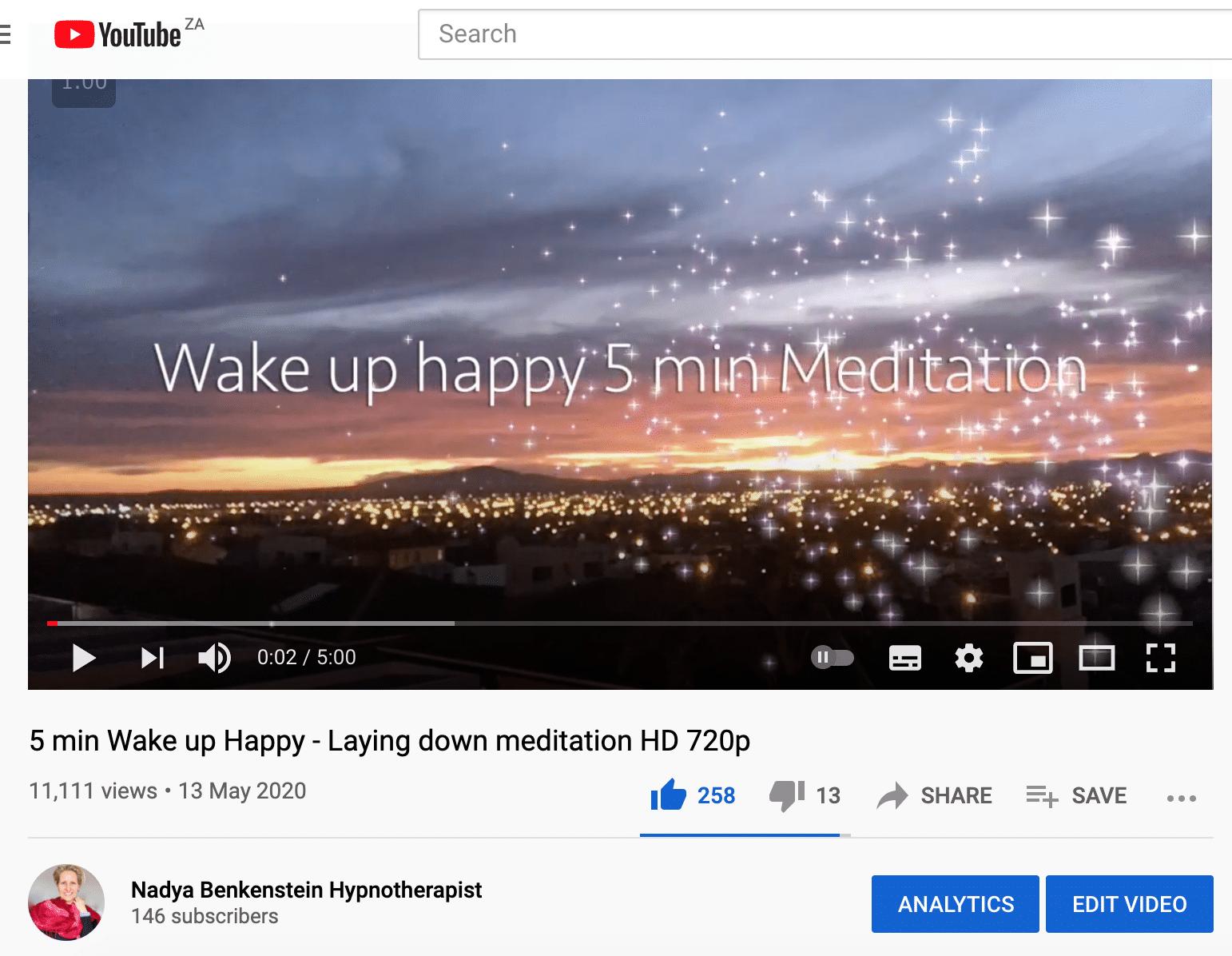 11 000k views of my meditation screenshot